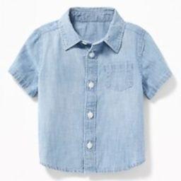 Chambray Pocket Shirt for Baby | Old Navy US