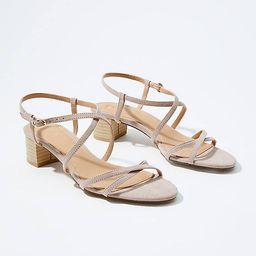 Strappy Block Heels | LOFT