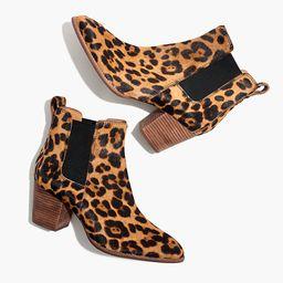The Regan Boot in Leopard Calf Hair | Madewell