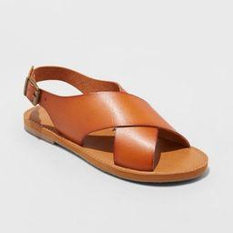 Women's Sarina Crossband Sandals - Universal Thread™ | Target