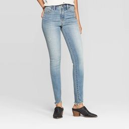 Women's Distressed High-Rise Skinny Jeans - Universal Thread™ | Target