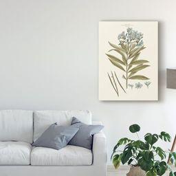 Trademark Fine Art 'Bashful Blue Florals III' Canvas Art by John Miller   Walmart (US)