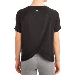 Women's Athleisure Commuter Short Sleeve T-Shirt | Walmart (US)