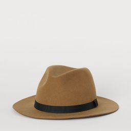 Felted Wool Hat | H&M (US)