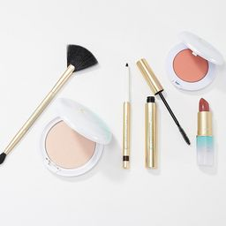Carmindy Beauty 5 Minute Face 5-Piece Collection w/ Highlight Brush   QVC