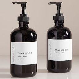 Lightwell x water street Hand Soap + Lotion - Teak | West Elm (US)