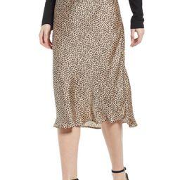 Satin Midi Skirt | Nordstrom