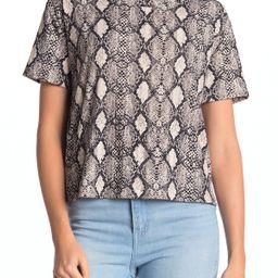 SocialiteSnake Print T-Shirt   Nordstrom Rack