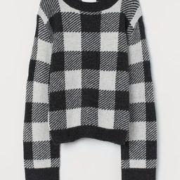 Jacquard-knit Sweater | H&M (US)