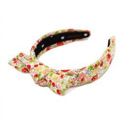 Lele Sadoughi Big Kid/Women's Exclusive Petite Strawberry Print Headband | The Tot