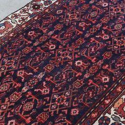 Persian Boho Rug, Hand Knot Rug, Area Rug, Vintage Rug, Red Rug, Morocco Decor, Area Rug Bohemian...   Etsy (US)