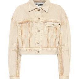 Cropped denim jacket   Mytheresa (INTL)