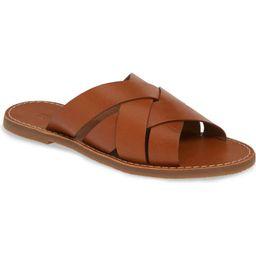 The Boardwalk Woven Slide Sandal | Nordstrom