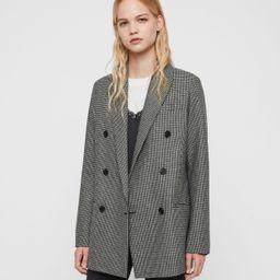 Astrid Puppytooth Blazer   AllSaints (UK)