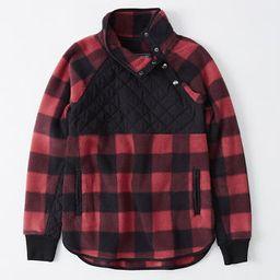 Asymmetrical Snap-Up Fleece | Abercrombie & Fitch US & UK