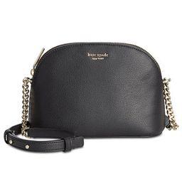 kate spade new york Sylvia Small Dome Leather Crossbody  & Reviews - Handbags & Accessories - Mac...   Macys (US)