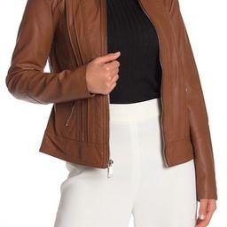 GUESS | Faux Leather Jacket | Nordstrom Rack | Nordstrom Rack