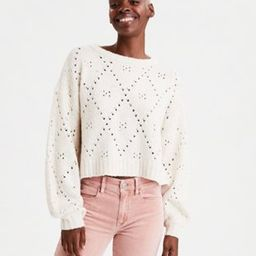 AE Crew Neck Pullover Sweater   American Eagle Outfitters (US & CA)
