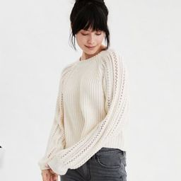 AE Pointelle Pullover Sweater   American Eagle Outfitters (US & CA)