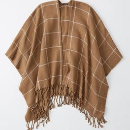Poncho | Abercrombie & Fitch US & UK