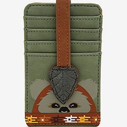 Loungefly Star Wars Ewok Suede Cardholder - BoxLunch Exclusive | BoxLunch