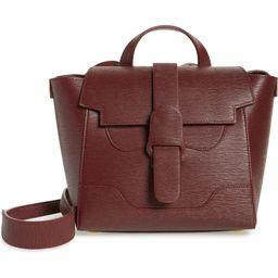 Mini Maestra Leather Satchel   Nordstrom
