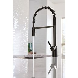 5923BL Align Pull Down Single Handle Kitchen Faucet with Duralock™ | Wayfair North America