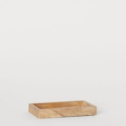 Small Wooden Tray   H&M (US)