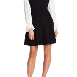 Long Sleeve Fit & Flare Sweater Dress | Nordstrom
