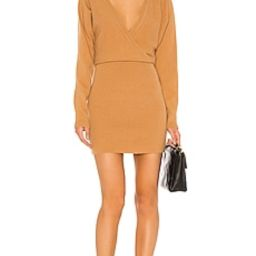 Lovers + Friends Sweater Dress in Camel from Revolve.com | Revolve Clothing (Global)