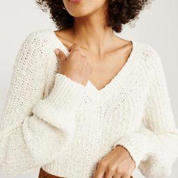 Slub V-Neck Sweater | Abercrombie & Fitch US & UK