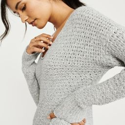 Slouchy Scoopneck Sweater | Abercrombie & Fitch US & UK