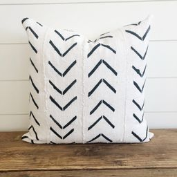 """The """"Kate"""" Authentic African Mud Cloth Pillow Cover (Arrow)   Etsy (US)"""