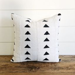 """The """"Finley"""" Authentic African Mud Cloth Pillow Cover   Etsy (US)"""
