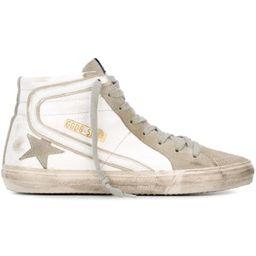 Golden Goose'Slide' hi-top sneakers   Farfetch (US)