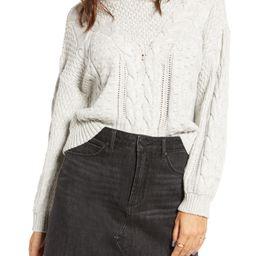 x Claudia Sulewski Cable Sweater | Nordstrom