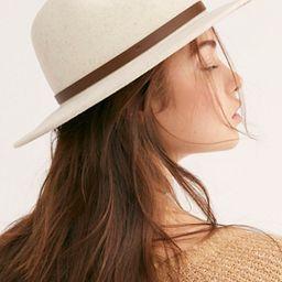 Wythe Leather Band Felt Hat   Free People (US)