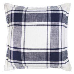 Better Homes and Gardens, Navy Reversible Plaid Pillow - Walmart.com   Walmart (US)