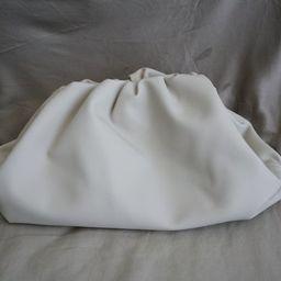 Calf leather handmade the pouch bag medium clutch cloud bag   Etsy (US)
