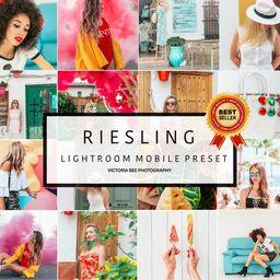5 Lightroom Mobile Presets RIESLING Color Pop , Vibrant Lightroom Presets for Instagram   Summer ...   Etsy (US)