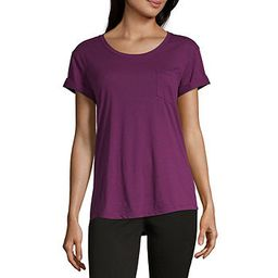 a.n.a-Womens Round Neck Short Sleeve T-Shirt - JCPenney   JCPenney