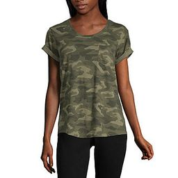 a.n.a Short Sleeve Round Neck Tee- Tall - JCPenney   JCPenney