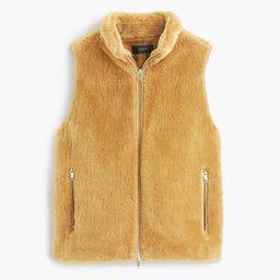 Plush fleece excursion vest | J.Crew US