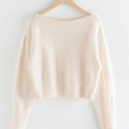 Boatneck Knit Sweater | & Other Stories