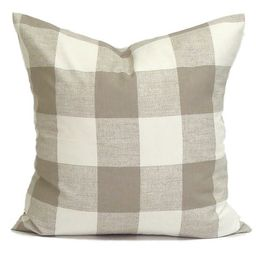 Farmhouse Pillow, Farmhouse Decor, Tan Throw Pillow COVER   Etsy (US)