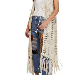 Suncatcher Crochet Duster Cardigan   Nordstrom