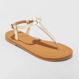 Women's Hartley T Strap Thong Sandals - Universal Thread™   Target