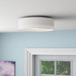 Orren Ellis Elginpark 3-Light LED Flush Mount   Wayfair   Wayfair North America