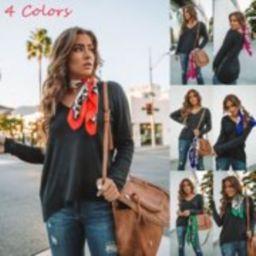 New Fashion Womens Silk Satin Square Leopard Dot Neck Scarf Wrap Shawl Neckerchief   Walmart (US)
