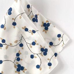 Cream Floral Scarf   hair scarf   hair tie   hair accessories   hair scarves   christmas scarf   ...   Etsy (US)